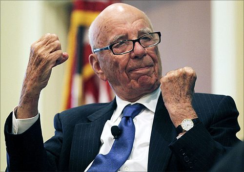 News Corp Chairman and CEO Rupert Murdoch.
