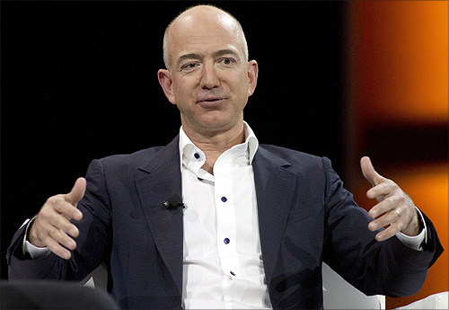 Jeffrey Bezos capitalised on the popularity of the Internet and founded Amazon in