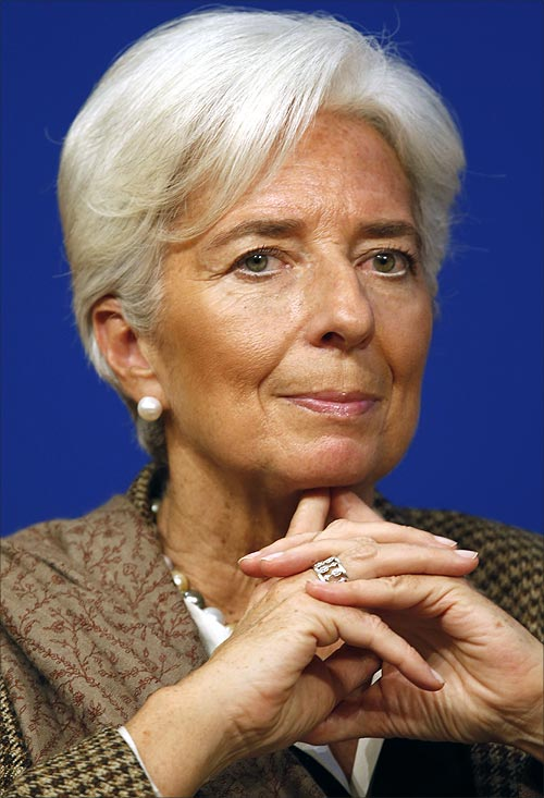 IMF Managing Director Christine Lagarde.