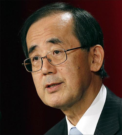 Masaaki Shirakawa.