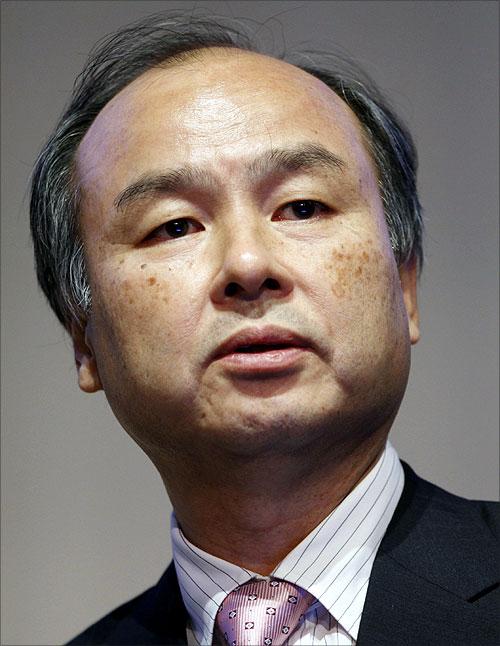 Softbank Corp President Masayoshi Son.