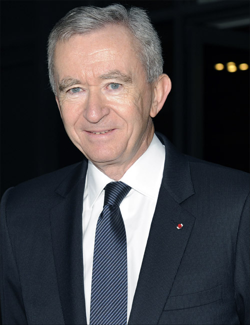 LVMH Chief Executive Bernard Arnault.