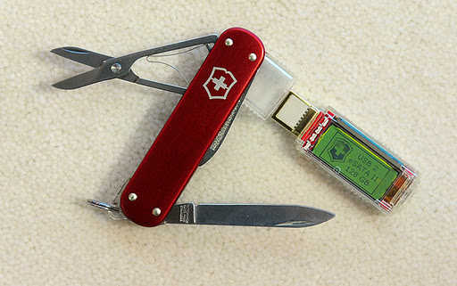 Victorinox 1TB Swiss Army Knife.