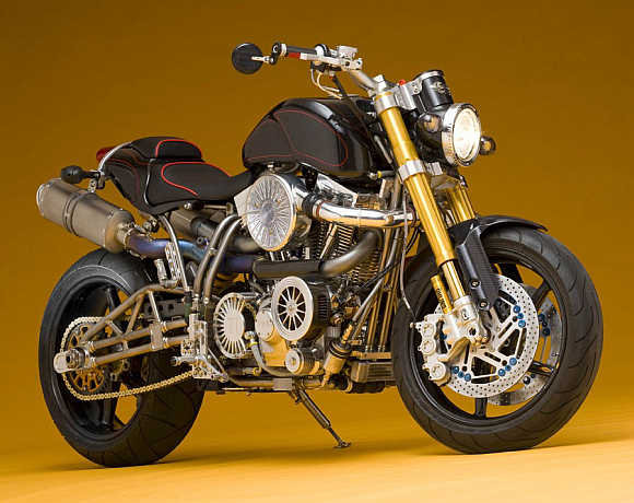Ecosse Titanium Series FE Ti XX Motorcycle.
