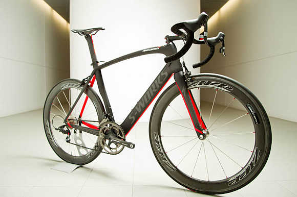 S-Works + McLaren Venge Bicycle.