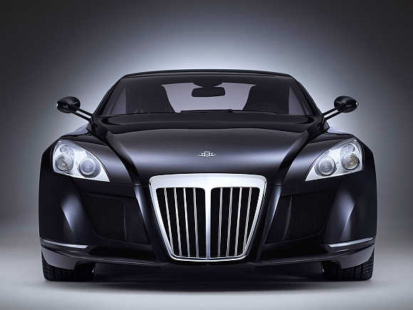 Maybach Exelero.