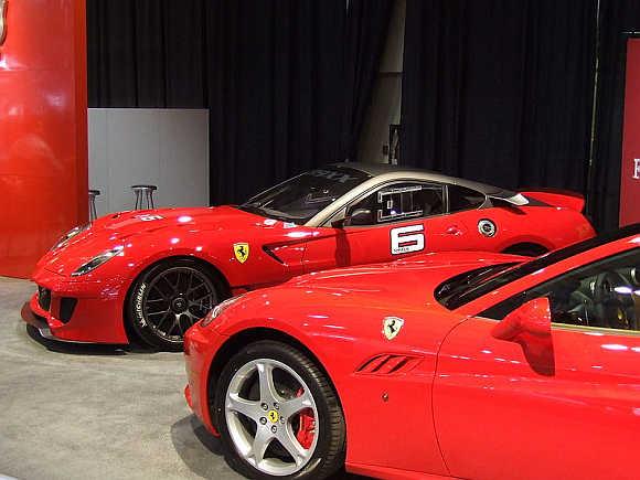 Ferrari 599XX.