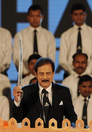 Subrata Roy, managing worker and chairman, Sahara India Pariwar