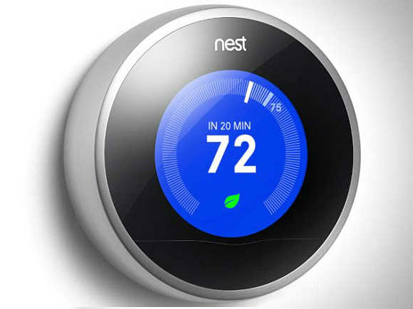 Nest 2.0 is a smart thermostat that controls home's temperature automatically.