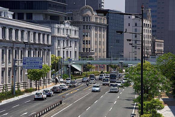 A view of Kobe, Japan.