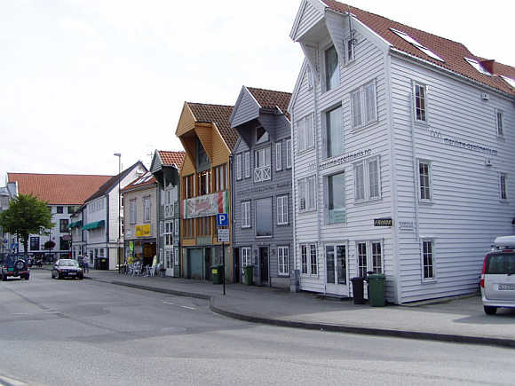 A view of Stavanger, Norway.