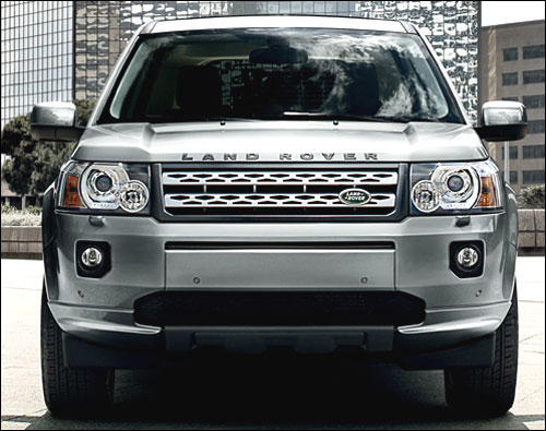 The revamped Land Rover Freelander 2