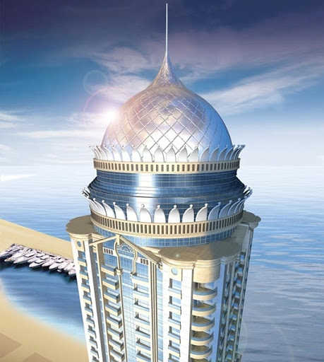 Princess Tower in Dubai.