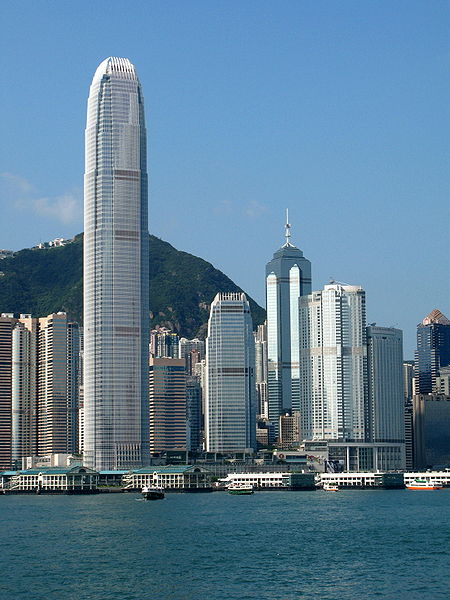 International Finance Centre in Hong Kong.