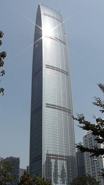Kingkey 100 in Shenzhen, China.
