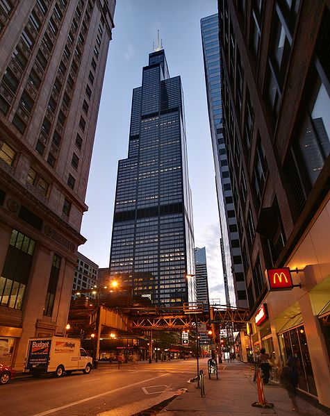 Willis Tower in Chicago.