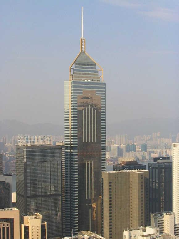 Central Plaza in Hong Kong.