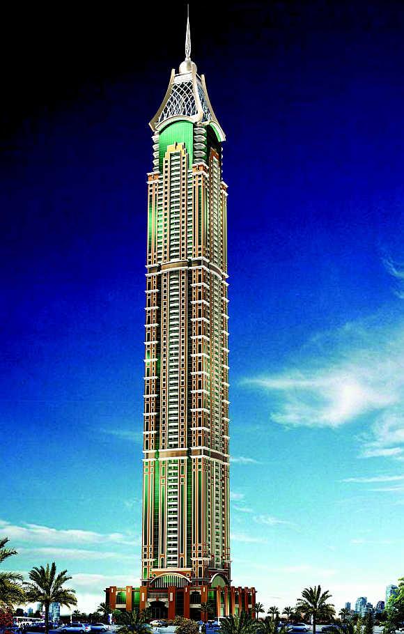 Elite Residence in Dubai.