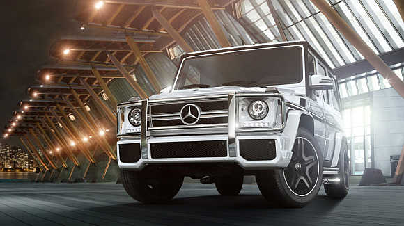 Mercedes-Benz G550.