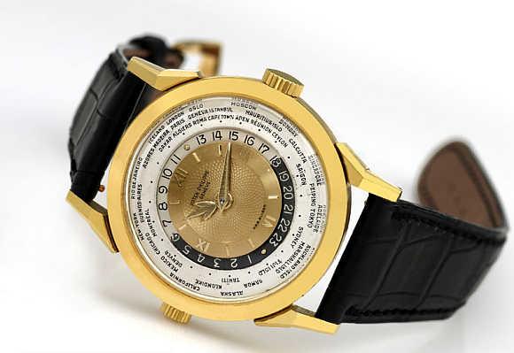 Patek Philippe 1953 Model 2523 Heures Universelles Watch.