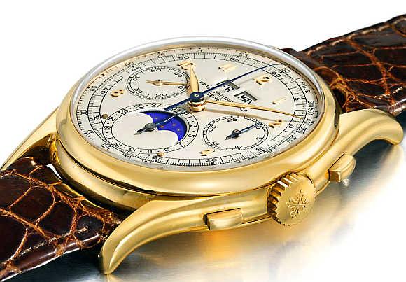 Patek Philippe Reference 1527 Wristwatch.