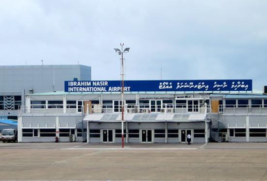 International airport building