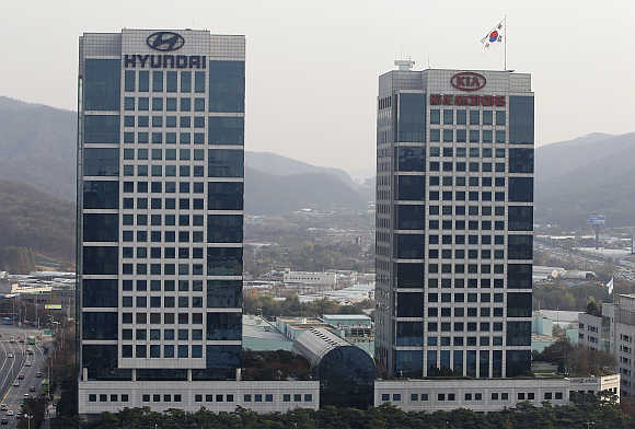 Hyundai Motor's headquarters in Seoul.