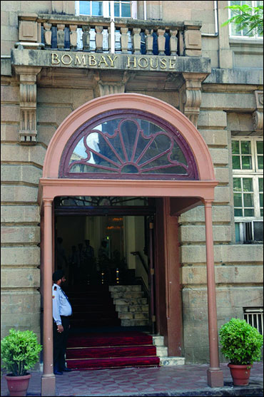 Tatas Headquarters in Mumbai.