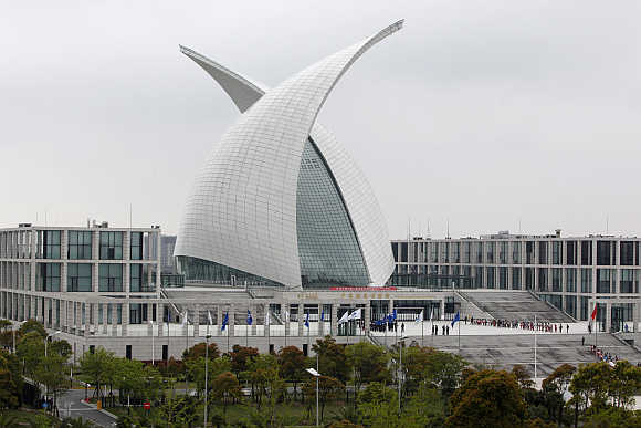 China Maritime Museum in the Shanghai Lingang Ind