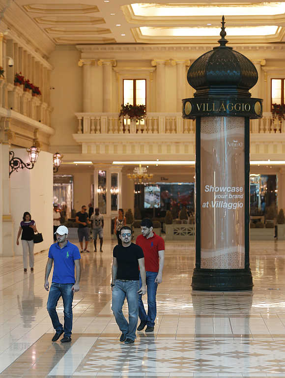 Villagio Mall in Doha.