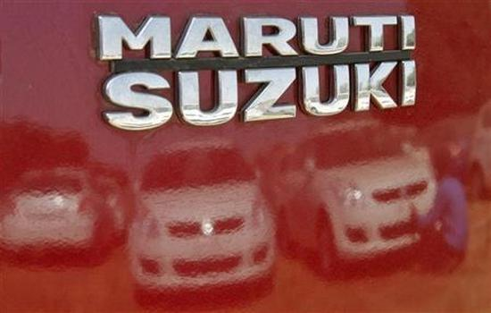Maruti Suzuki's stock yard at Sanand in Gujarat.