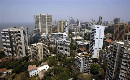A view of Mumbai's skyline.