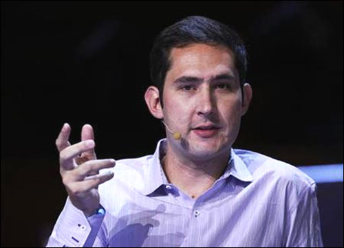 Instagram co-founder and CEO Kevin Systrom.