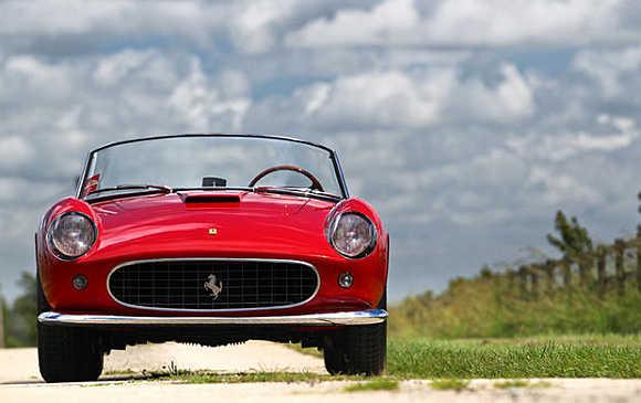 1957 Ferrari 250 GT California LWB Prototype Spyder.