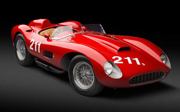1957 Ferrari 625 TRC Spider.