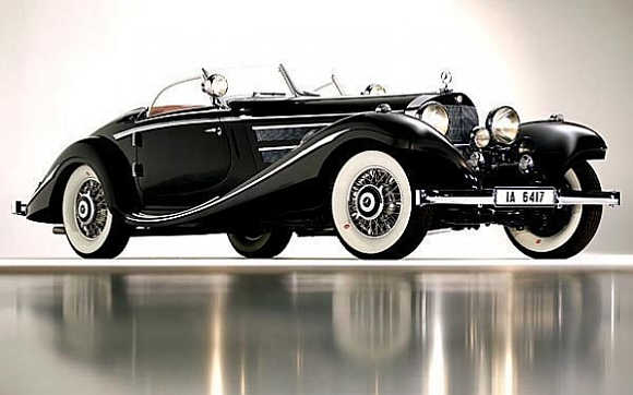 1936 Mercedes-Benz 540K Special Roadster.