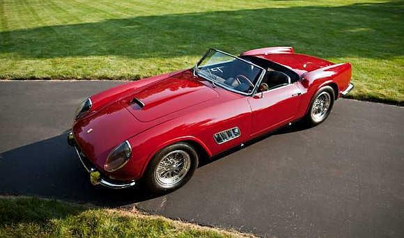 1960 Ferrari 250 GT California LWB Competizione Spyder.