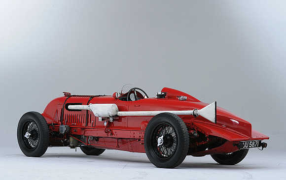 1929 Bentley 4 1/2 Liter supercharged single seater.
