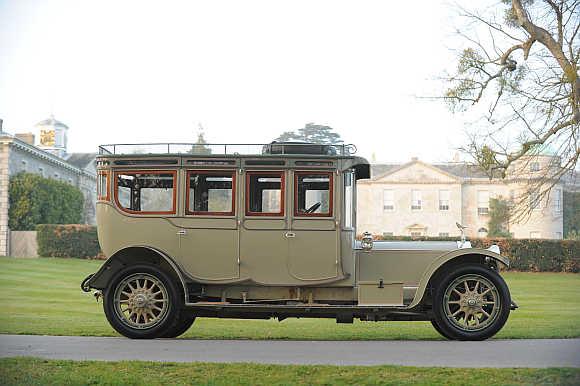 1912 Rolls-Royce Silver Ghost Pullman Limousine.