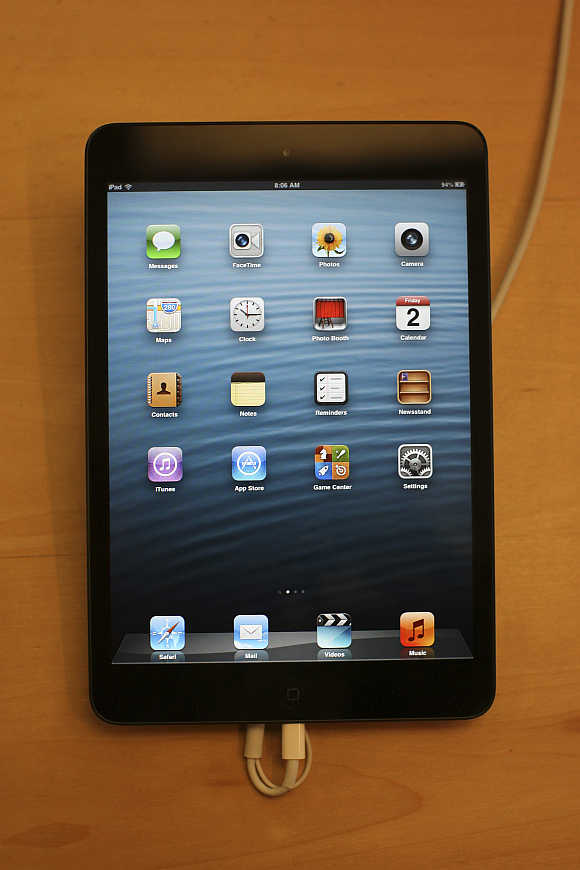 An iPad mini.