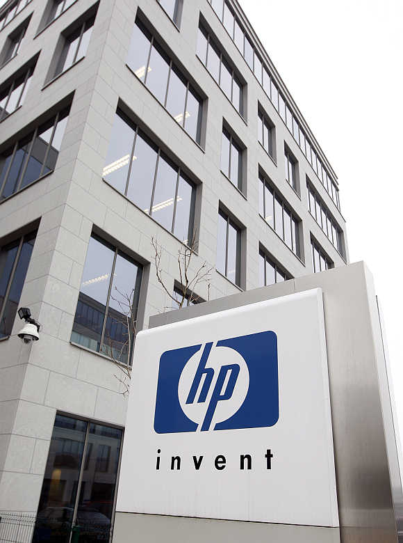 Hewlett-Packard's Belgian headquarters in Diegem, near Brussels.