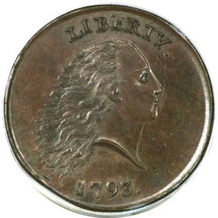 One-cent coin.