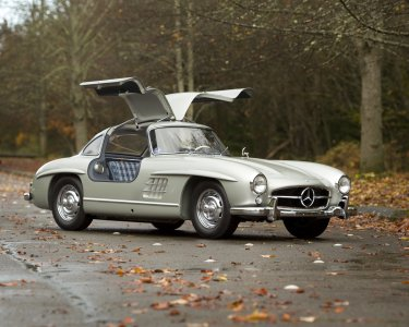 1955 Mercedes 300 SL Gullwing.