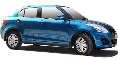The all new Maruti Swift Dzire at Rs 4.79 lakh
