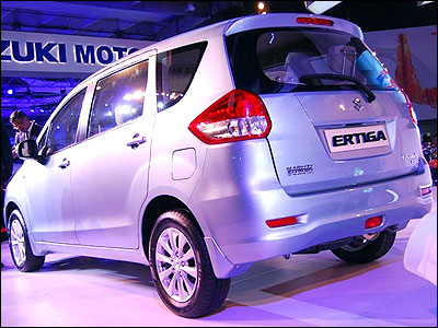 Maruti on a hat-trick. Ertiga to be launched in March