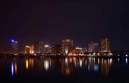 A view of Manila.