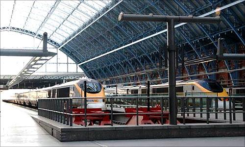 St. Pancras Station.