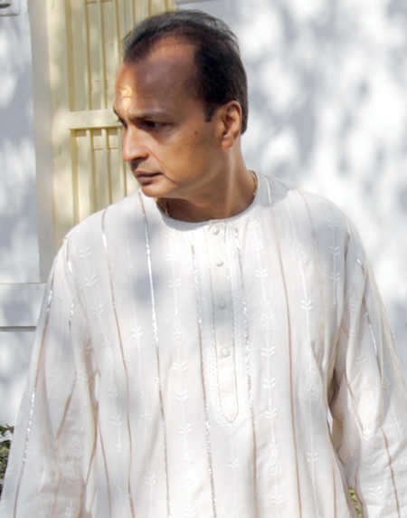 Anil Ambani was present at the ceremony. (File photo from December, 2011)