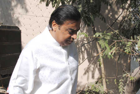 Mukesh Ambani was also present at the event. (File photo from December, 2011)