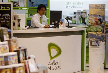 The UAE's Etisalat.